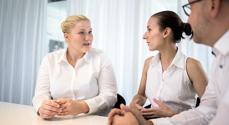 Die Coaching-Profis der IPMA helfen den Teilnehmern ihre Kommunikationsskills zu verbessern und ihre Produktivität zu steigern